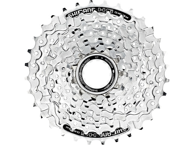Shimano CS-HG51 Cassette 8-speed, silver